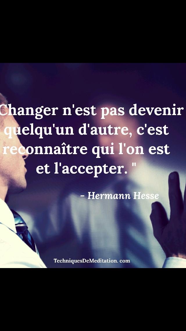 Le changement est en nous-même